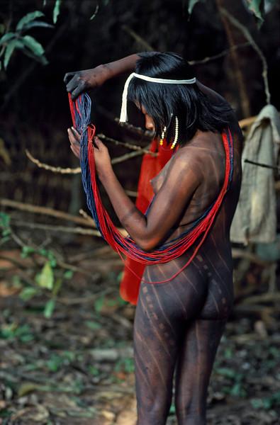 Kayapo Woman (edition 2/25)