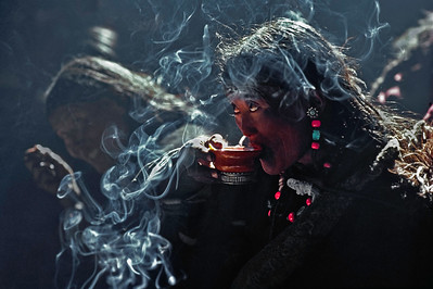 Tibetan Tea Drinker (edition 2/25)