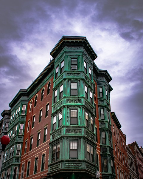 North End Architecture, Boston.