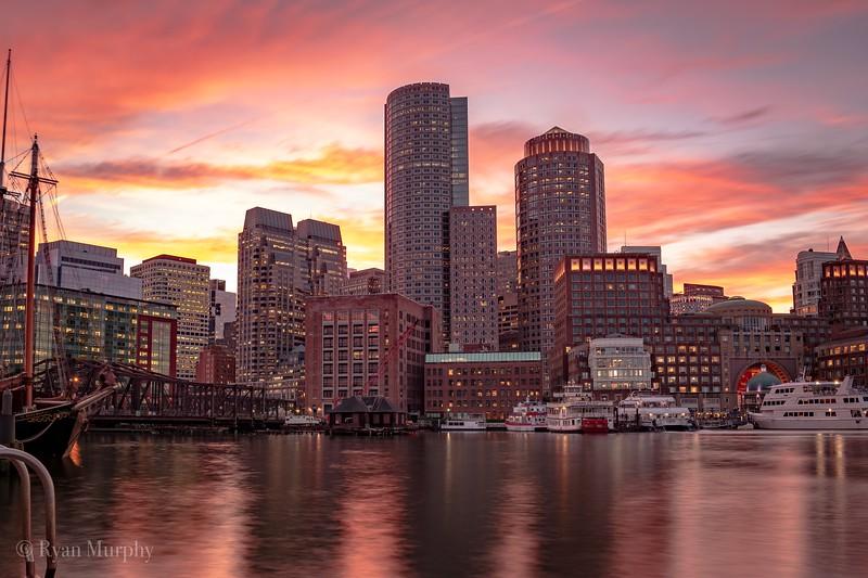 Fan Pier Marina, Boston.