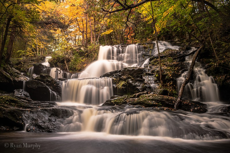 Garwin Falls in Wilton, NH.