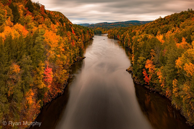 Autumn View of the Connecticut River.