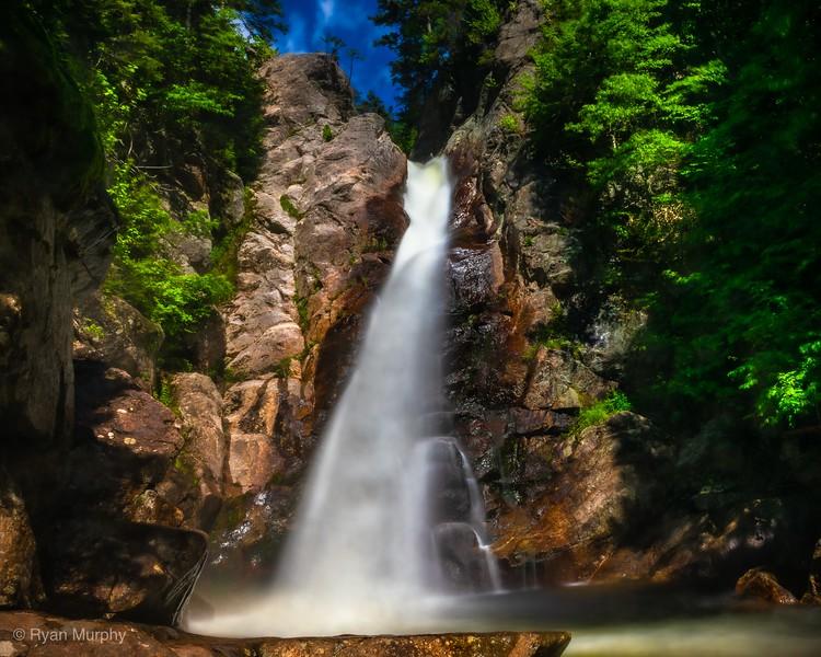 Glen Ellis Falls in Gorham, NH.