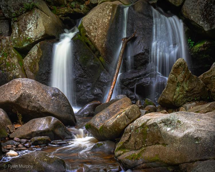 Trap Falls in Ashby, MA.