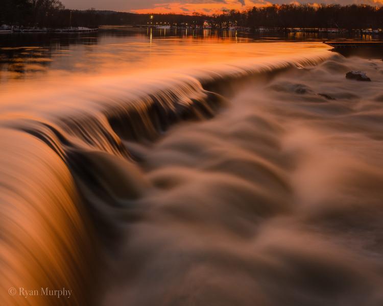 Pawtucket Falls Lowell, MA.