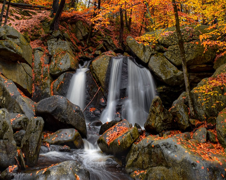 Autumn Colors at Trap Falls.