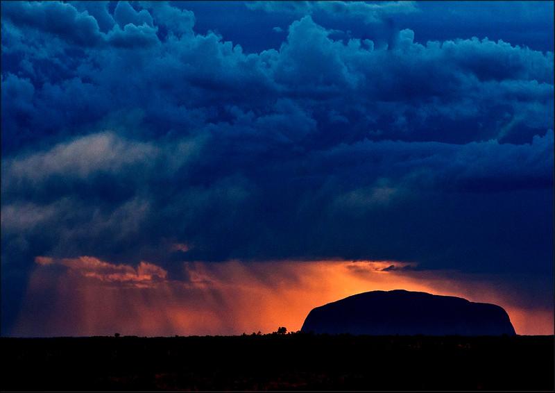 Storm Over Uluru