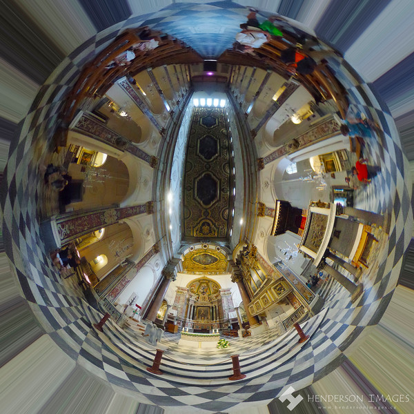 Amalfi Coast Church Little Planet