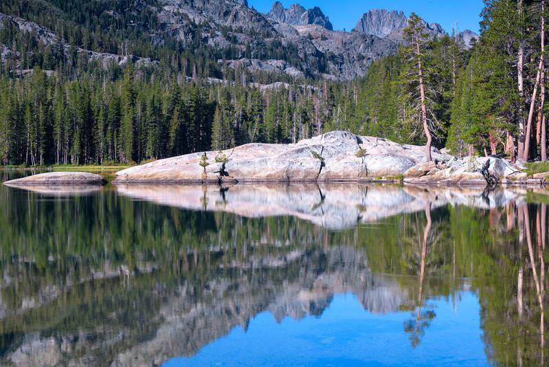 Shadow Lake Morning Reflections
