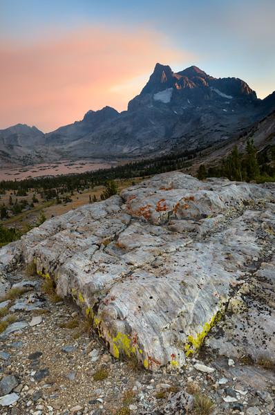 Island Pass Top Rock at Sunset
