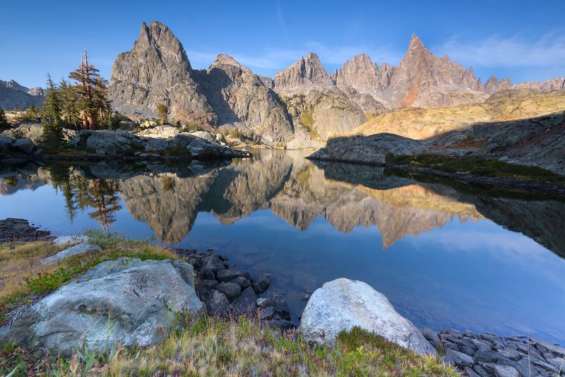 Morning Reflections at Minaret Lake