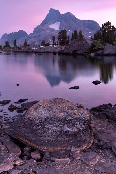 Island Pass Sunset Reflection