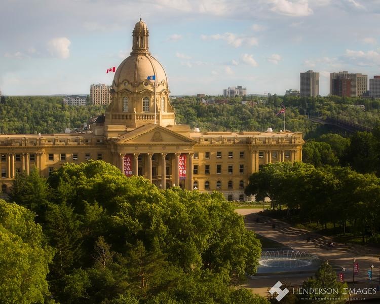 Alberta Legislature - Summer 2017