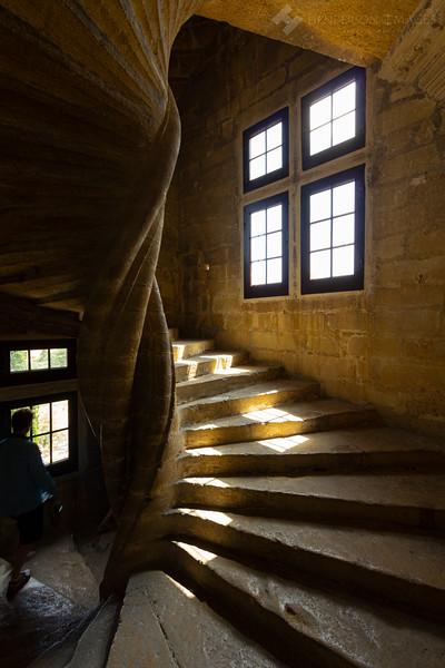 Stairwell - Chateau de Lourmarin