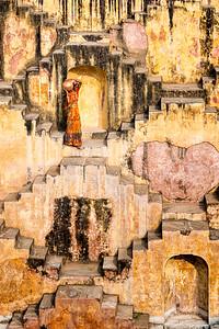 Panna Meena ka Kund, Amer, Jaipur, Rajasthan, India
