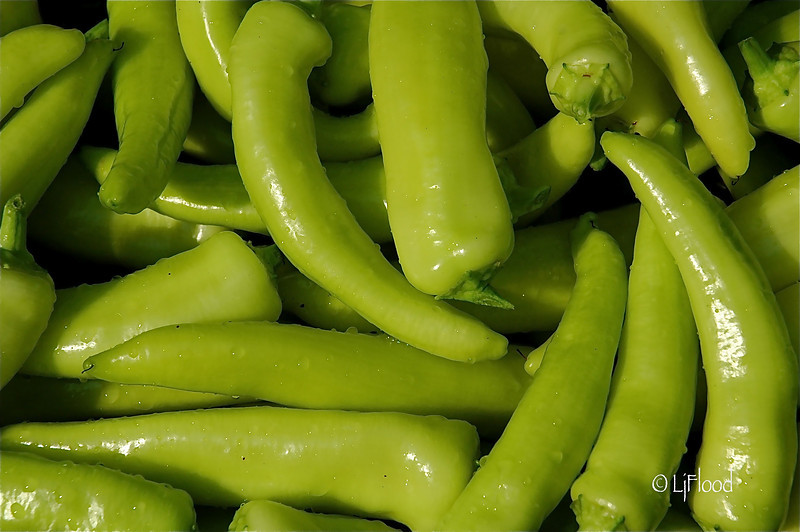 Peppers In Green