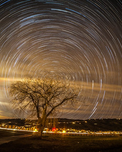 Star Trails in Southern California