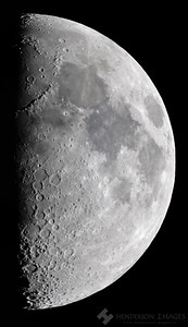 First Quarter Moon - April 30 2020