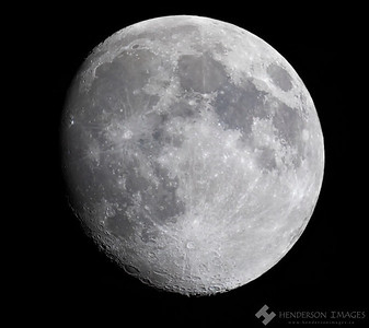 Waxing Gibbous Moon - 20200504