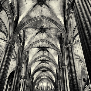 Gothic Arches, La Seu