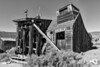 Sawmill BW - Bodie Ghost Town - California