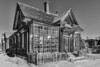Doctor's Office BW - Bodie Ghost Town - California