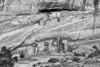 White House Ruin BW - Canyon de Chelly - Arizona