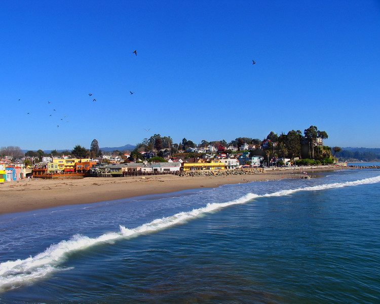 Capitola Beach, California.