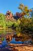 Reflection On Oak Creek - Sedona - Arizona