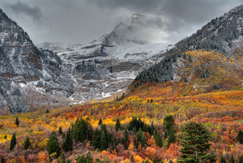 Winter Storm on Sundance - Wasatch Mountains - Utah