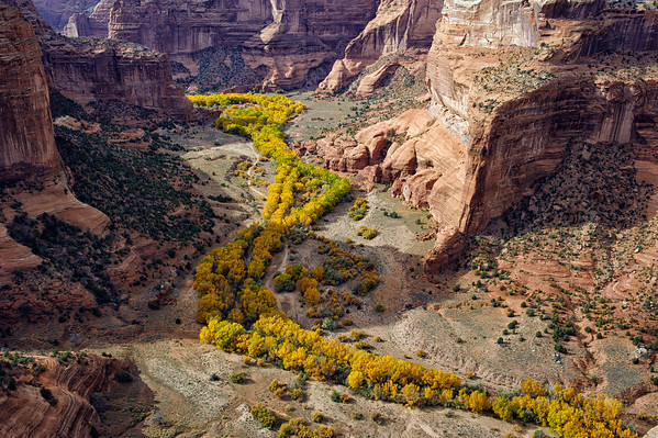 Fall Time in Canyon de Chelly - Arizona