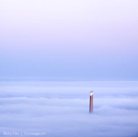 Smoke Stacks, Morro Bay, Ca