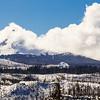 Mount Washington Wilderness in Winter Snow