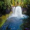 Koosah Falls on the McKenzie River in Oregon