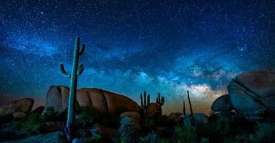 Boulder Milky Way Night, Florence, AZ