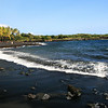 Hawaii_Black_Sand_Beach_Palm_Trees_Waves_020111