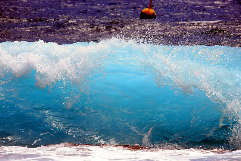 """Crashing Wave and Buoy""       Big Island, Hawaii   <br /> <br /> Images By Josh<br /> <br /> <br /> <br /> <br />  <a href=""http://www.imagesbyjosh.com"">http://www.imagesbyjosh.com</a>"
