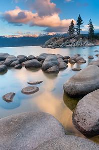 Lake Tahoe Glacial Granite