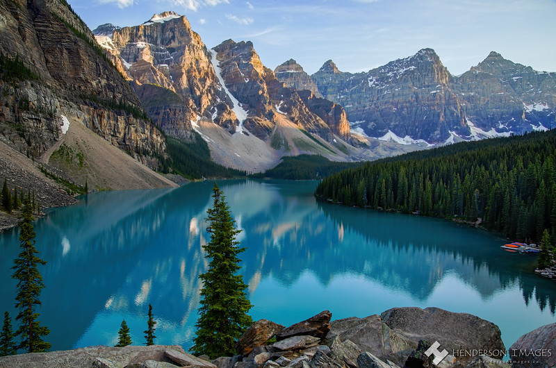 Moraine Lake Evening - July 2020