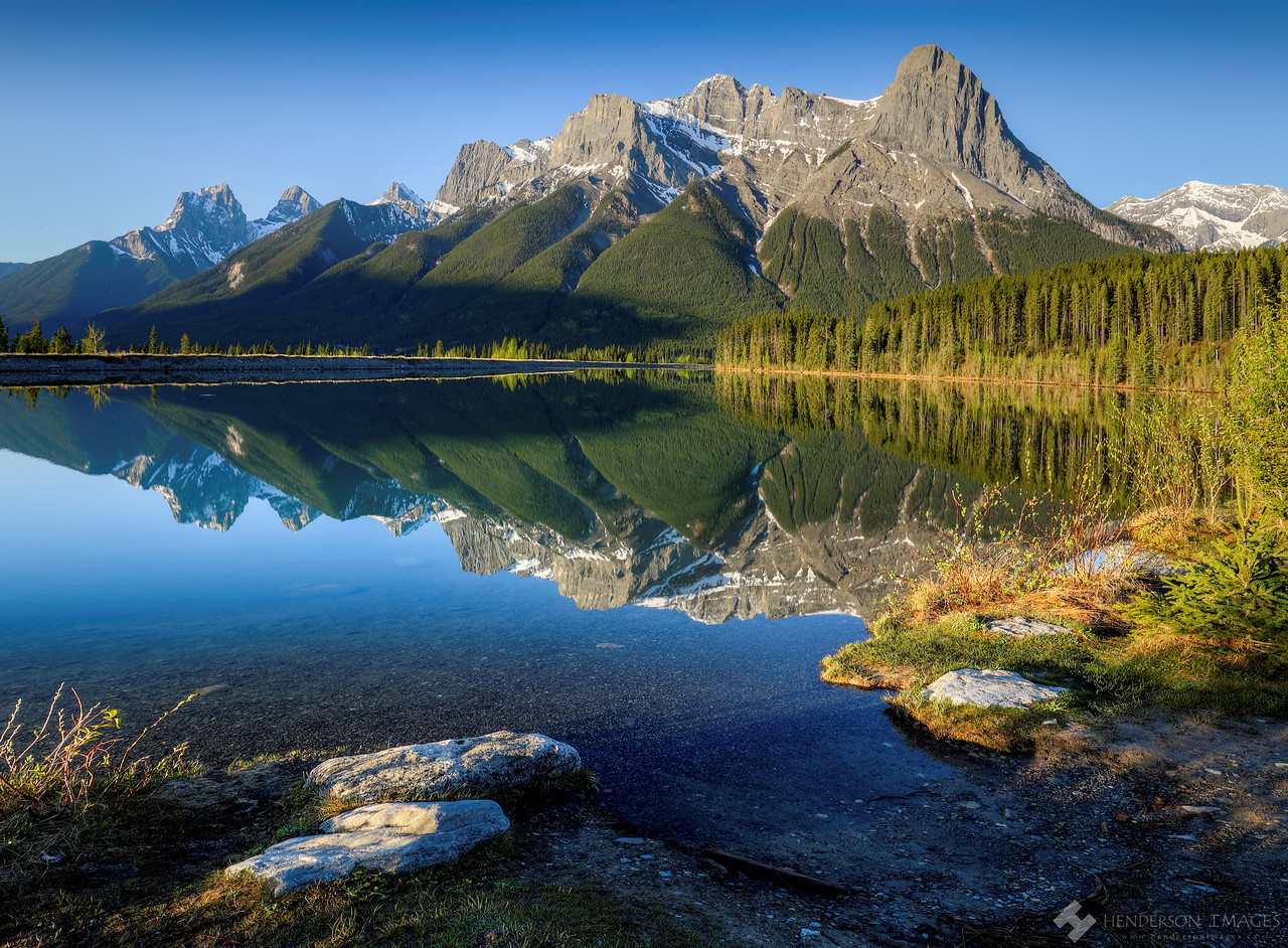 Mt. Lawrence Grassi Canmore Alberta
