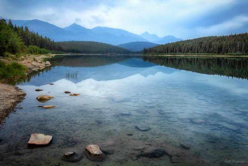 Pre-dawn at Patricia Lake