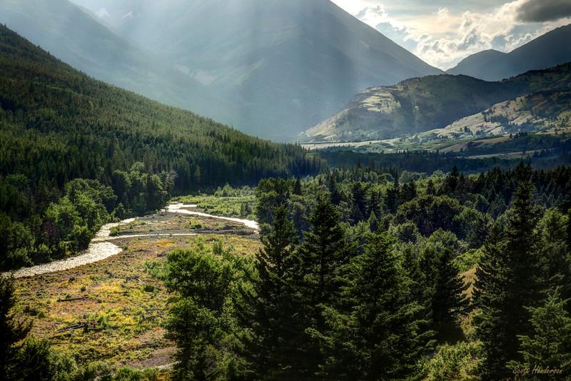 Crandell Creek, Waterton National Park