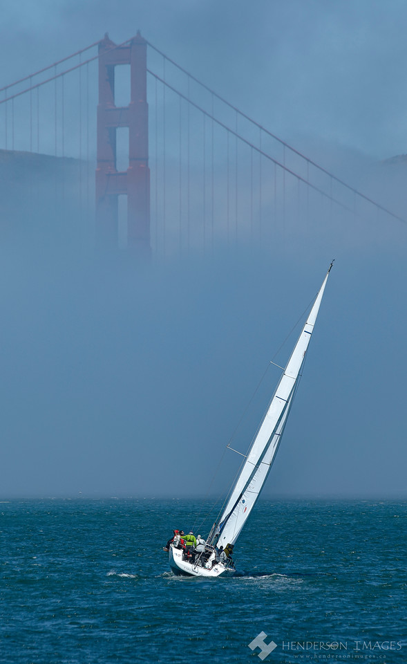 Sailing for the Golden Gate