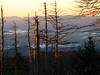 Clingmans dome sunrise