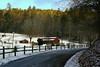Country Barn snowfall