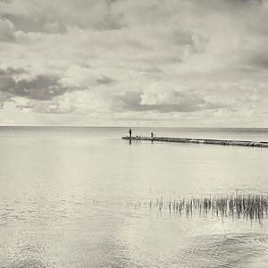 Fishing in Nida