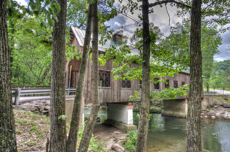 Covered Bridge in Greenbier, TN