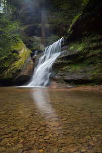 Hocking Hills Waterfall