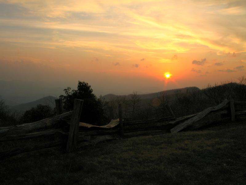 Brasstown Bald Sunset 1