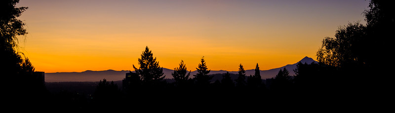 Portland Sunrise Mt Hood 090117-3